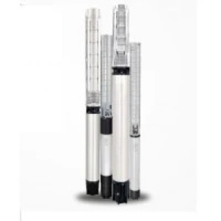 Трифазна сондажна помпа Shakti QF 20-10 (2,2 KW, 68 м, 12 м3/ч, в комплект с пусково табло)