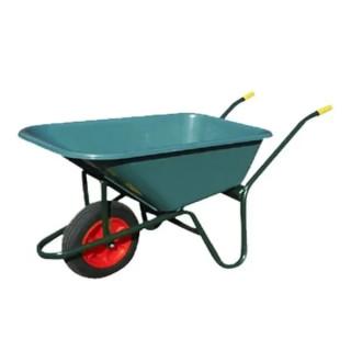 Градинска количка с вместимост  100 л.  с ергономични гумени ръкохватки