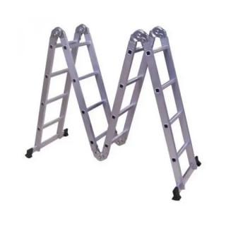 Многофункционална сгъваема стълба 4х4 / 5.45 м /
