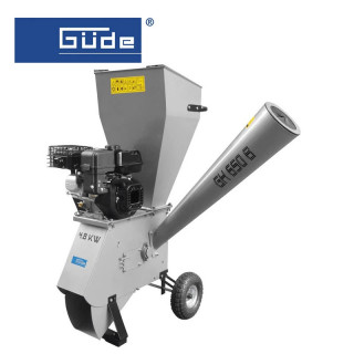 Бензинова градинска дробилка GH 650 B 6.5 hp, max 76 mm / GÜDE 94360 /
