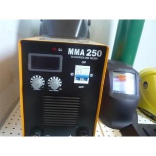 Инвенторен електрожен с дигитален дисплей TIG TAG ММА 250