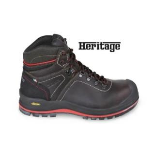 Водоустойчиви работни обувки от набук, високи, 7294HM - 46 размер, Beta Tools
