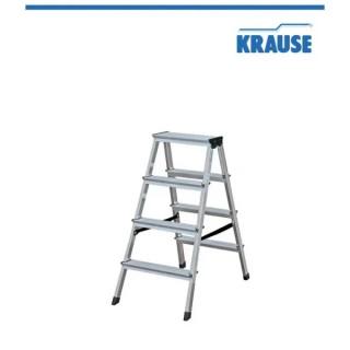 Алуминиева двустранна стълба KRAUSE DOPLO 2x4