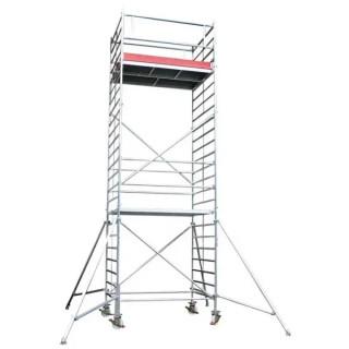 Модулно алуминиево скеле с работна височина 7.35м AS4000