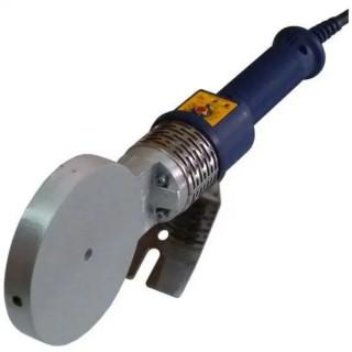 Комплект заваръчен апарат с термостат с кръгъл накрайник POLYS P-4a / 1200 W , Ø 75 - 125 mm супермакс