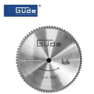 Метален циркулярен диск 355мм /GÜDE 40539 /