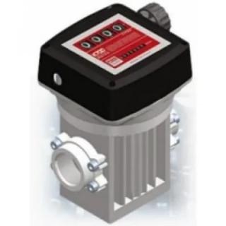 """Механичен брояч за горива, BGS Technic 20-220 л/min, 1.1/2"""" (4+7 цифри)"""