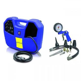 Безмаслен компресор Erba Hobby Kit 1.1 kW, 8 bar