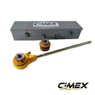 """Ръчна винторезна машина CIMEX TSCV - до 2"""""""