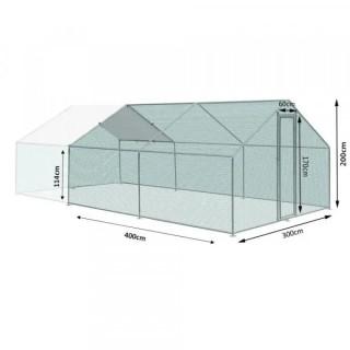 Външно заграждение ZIPPER ZI-CR342 / 3x4x2m