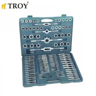 Професионален комплект за нарязване на резби Troy Metric T 36110