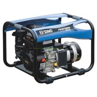 Бензинов монофазен електрогенератор SDMO PERFORM 4500 /4.20Kw ръчен старт/