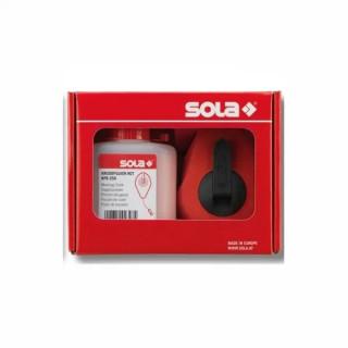 Чертилка зидарска пластмасова комплект Sola CLK 30 SET R