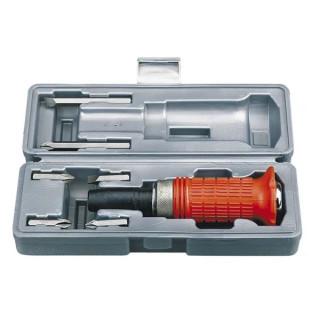 Отвертка Fervi ударна със сменяеми накрайници в кутия 6 бр., 0083