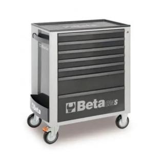 Количка за инструменти BETA, 7 чекмеджета, Сива