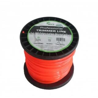 Тримерна корда GardenMAX 3.3mmx20LB 840m (квадрат - макара)