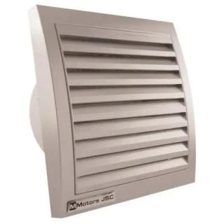 Вентилатор за стенен монтаж MMotors , ф100 мм, 95 м3/h, MM 100, инокс