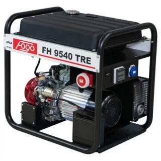 Бензинов трифазен генератор FOGO FH9540TRE 8.1kW с увеличен резервоар, AVR и ел. старт