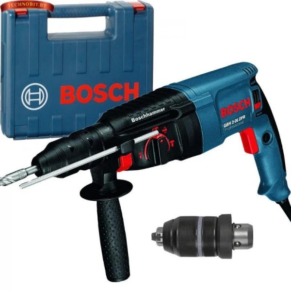 Комбиниран перфоратор Bosch GBH 2-26 DFR   800W  куфар