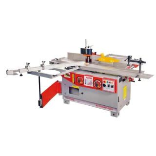 Комбинирана 5 операционна машина за дървообработване Holzmann K5320VFP2000 400V