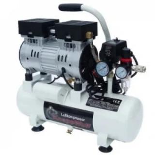 Обезшумен/тих компресор за въздух 8 литра, Knappwulf KW1008