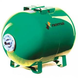 Разширителен съд хоризонтален NEMA 80L 10bar зелен