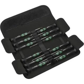 Комплект отвертки WERA, Kraftform Micro, 12 части
