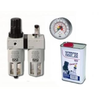 Пневмогрупа 1/2 GAV FRL200 / с пневматично масло Sprinter