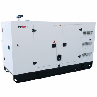 Шумоизолиран дизелов трифазен генератор SENCI 125YCS, 125 kVA