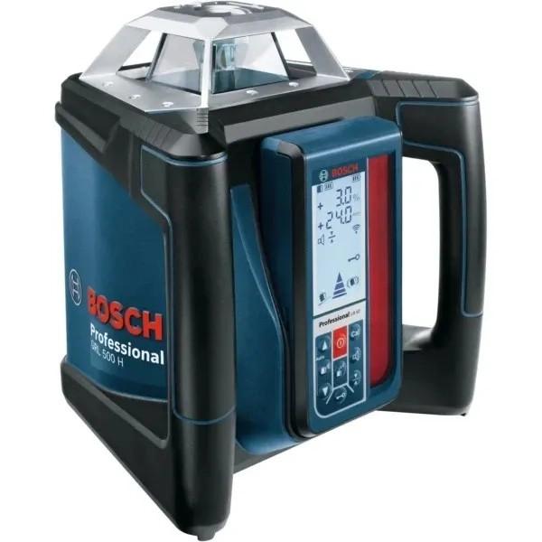 Ротационен лазер Bosch GRL 500 H + LR 50