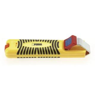Нож Fervi електротехнически за сваляне изолация ф 0.8-28 мм, 0801