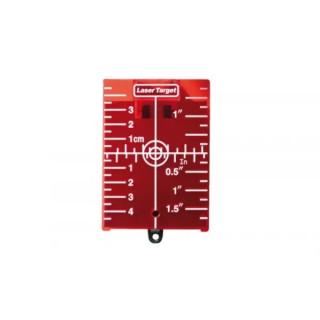 Мишена за лазерен нивелир магнитна червена Sola ZS RED