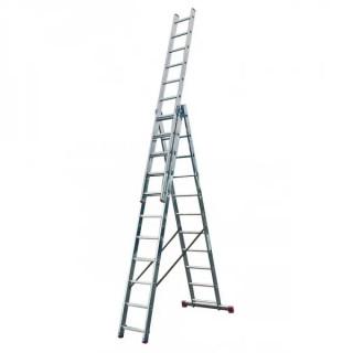 Професионална трираменна стълба Krause Corda 3x11