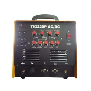Аргонов апарат TIG 220P AC/DC с допълнителна функция електрожен, TIG TAG
