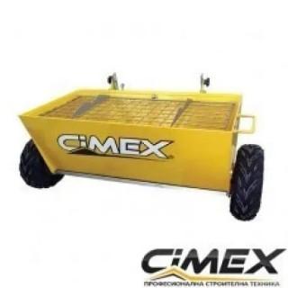 Количка за посипка на бетон CIMEX CWB100