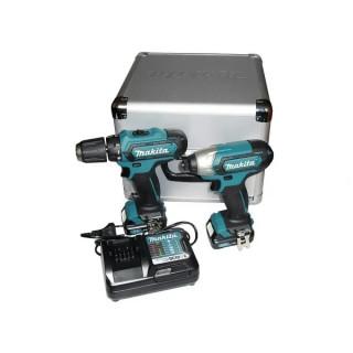 Makita CLX201X, Комплект акумулаторни инструменти