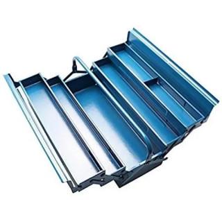 Метален куфар /сандък/ за инструменти 5 отделения BGS Technic BGS3300