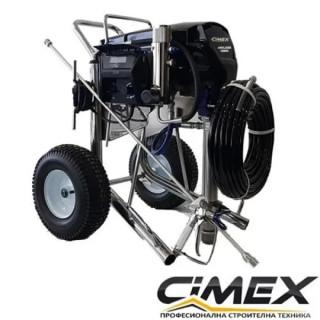 Машина за шпакловка, шийтрок и боядисване CIMEX X690LP