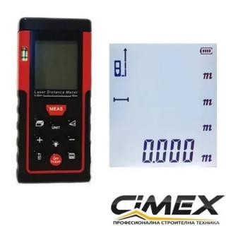 Лазерна ролетка CIMEX LM40 - 40 метра обхват