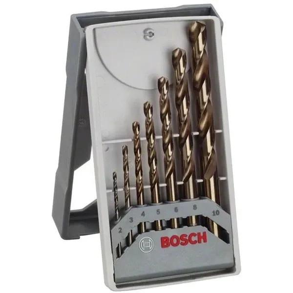 Свредла HSS-Co за метал на Bosch - 7 броя в кутия
