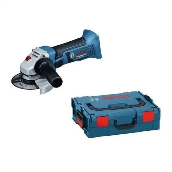 Акумулаторен ъглошлайф Bosch GWS 18-125 V-Li (Соло + куфар)