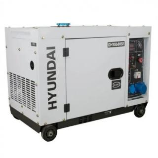 Дизелов генератор Hyundai DHY 8600SE