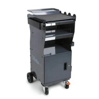 Мултифункционална количка, мобилна станция за диагностични уреди с вратичка, CА49-G, Beta Tools