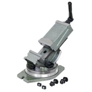 Менгеме Fervi прецизно инструментално с въртяща се маса 100 мм, M530/125