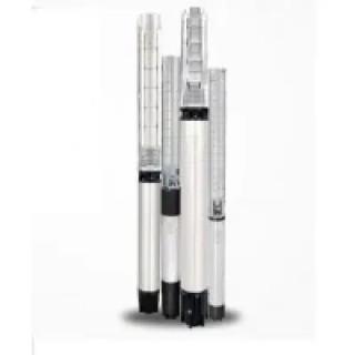 Трифазна сондажна помпа Shakti QF 30-6 (4.0 KW, 68 м, 22 м3/ч, в комплект с пусково табло)