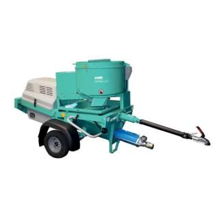 Машина за мазилка за употреба от кота IMER STEP 120A