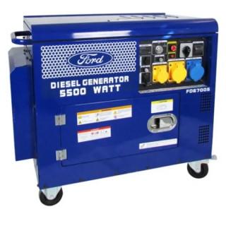 Дизелов генератор Ford-Tools FD6700S, 5 kW