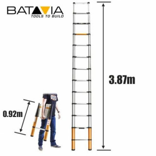 GIRAFFE Телескопична стълба 3.87 м / BATAVIA 7062055 /