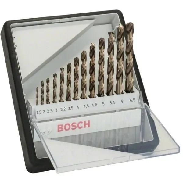 Свредла HSS-Co за метал на Bosch - 13 броя в кутия