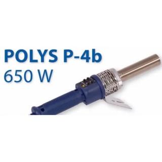 Заваръчен апарат с термостат с кръгъл накрайник POLYS P-4b / 650 W Trace Weld Plus , Ø 63 mm